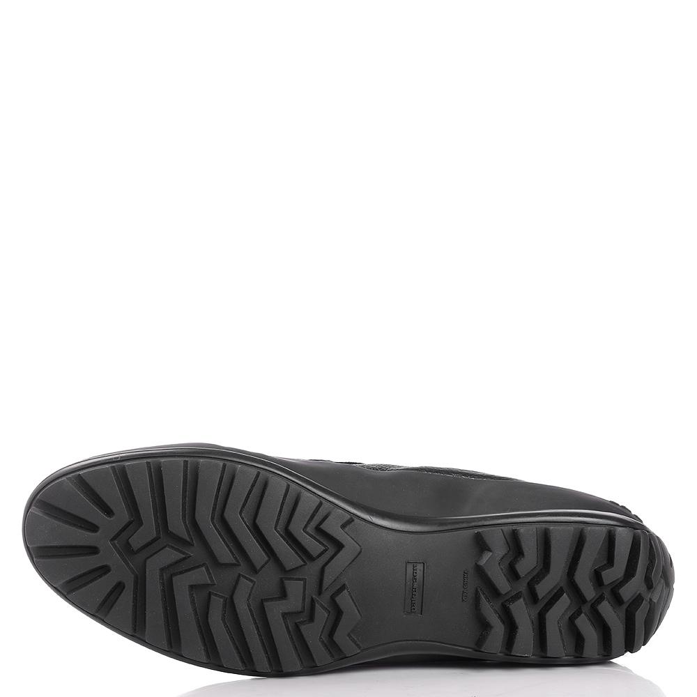 Черные ботинки Pakerson из мягкой кожи