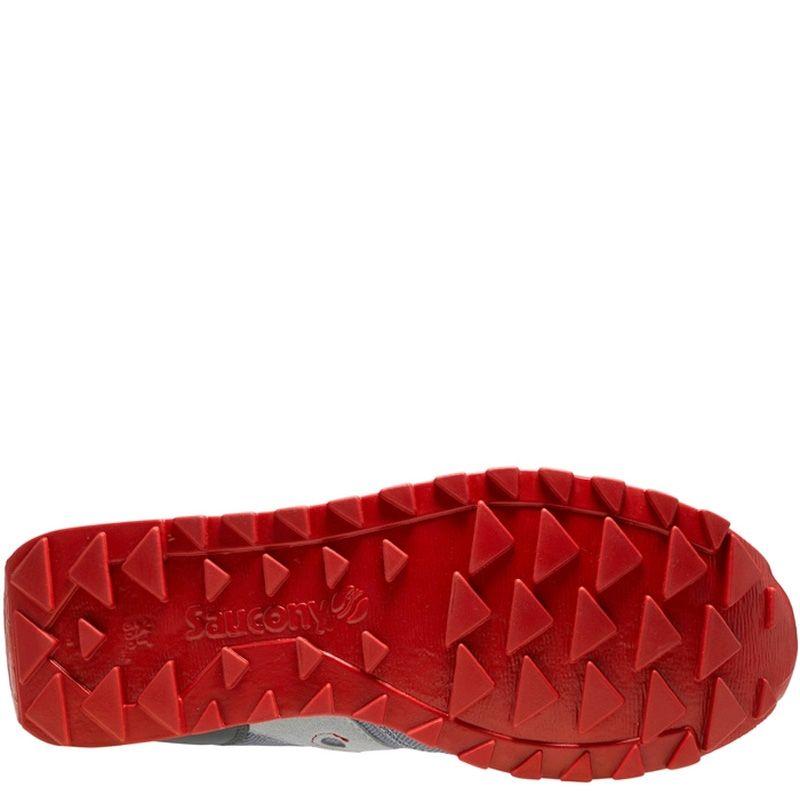 Мужские кроссовки Saucony Jazz O Ballistic серые с красным
