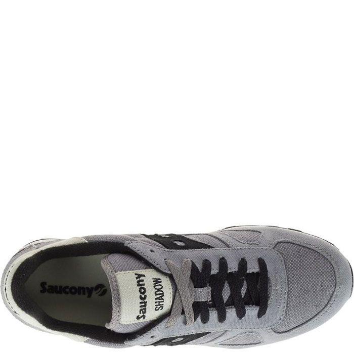 Кроссовки Saucony Shadow Original Vegan Grey серые с черным