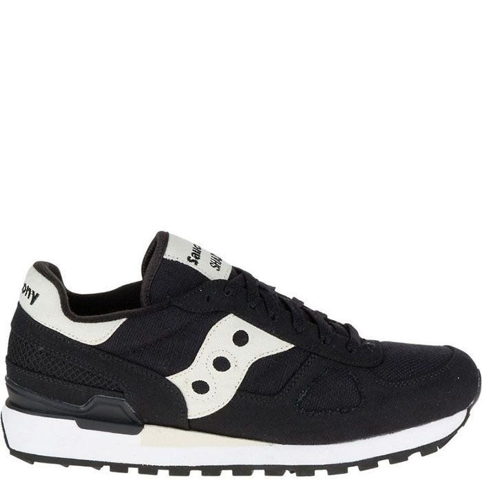 Кроссовки Saucony Shadow Original Vegan Black из хлопка