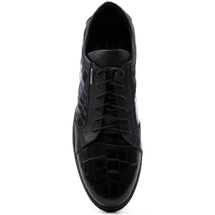 Мужские туфли Modus Vivendi с имитацией кожи рептилии на шнуровке