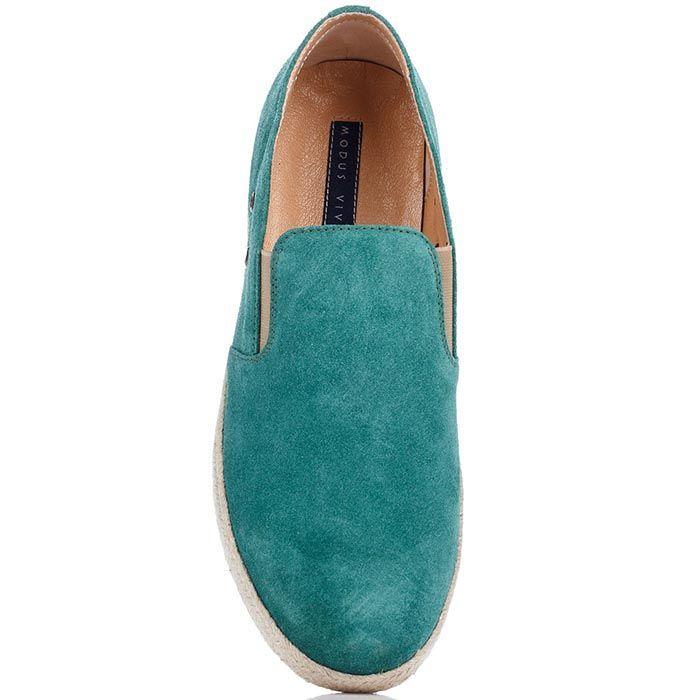Мужские мокасины Modus Vivendi голубого цвета