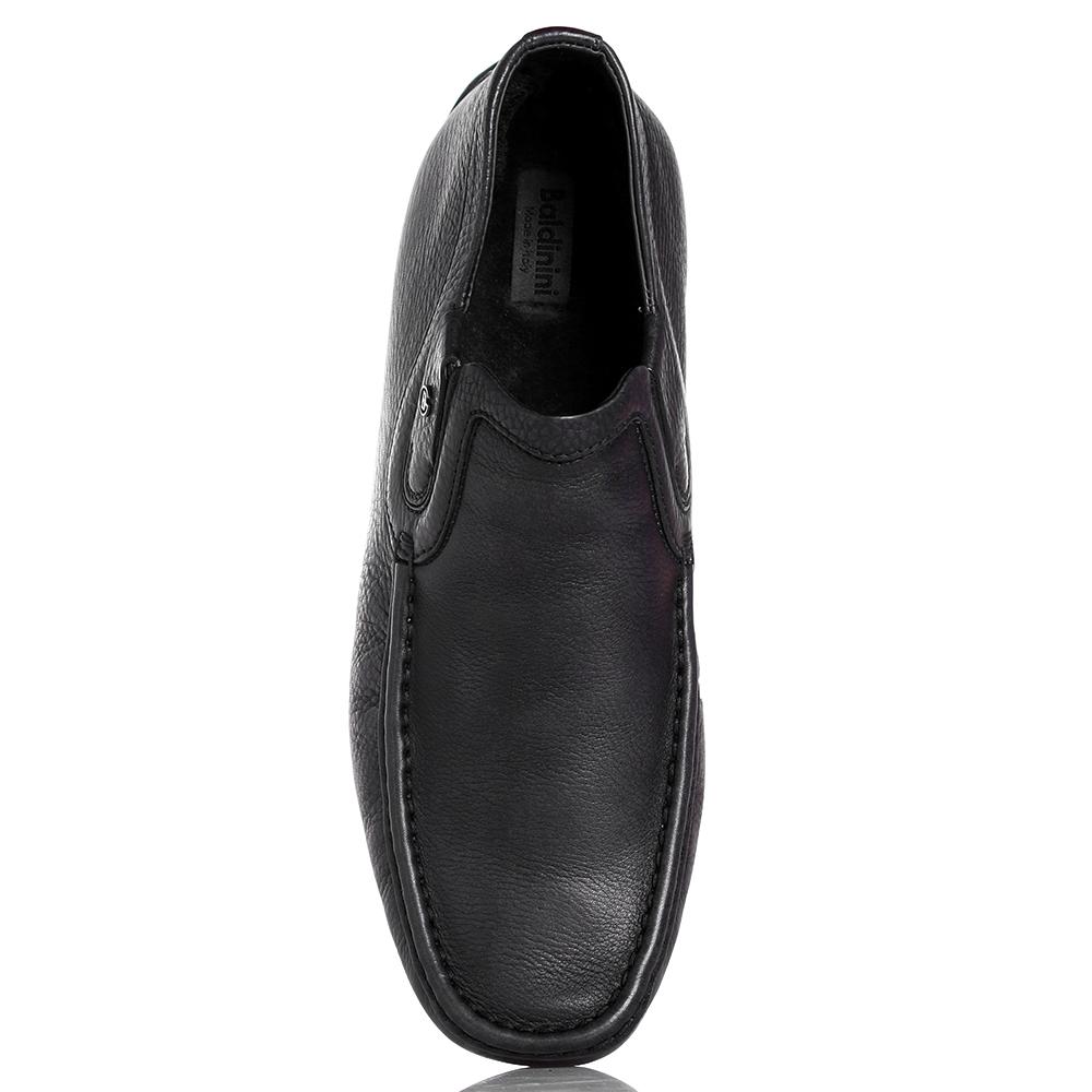 Высокие мокасины Baldinini черного цвета