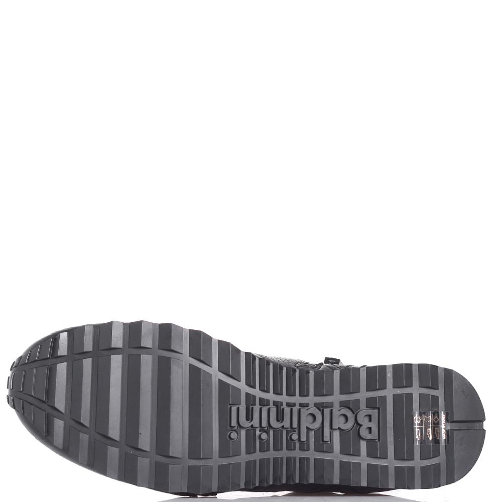 Зимние кроссовки Baldinini черного цвета