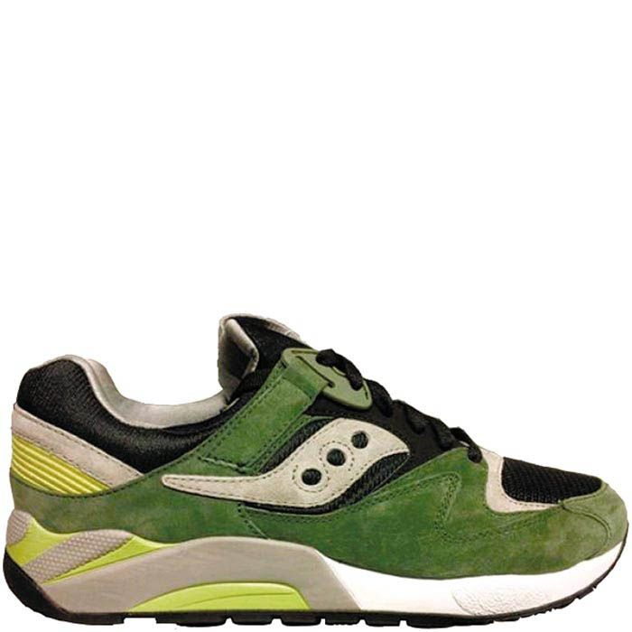 Мужские кроссовки Saucony Grid 9000 IP зеленые