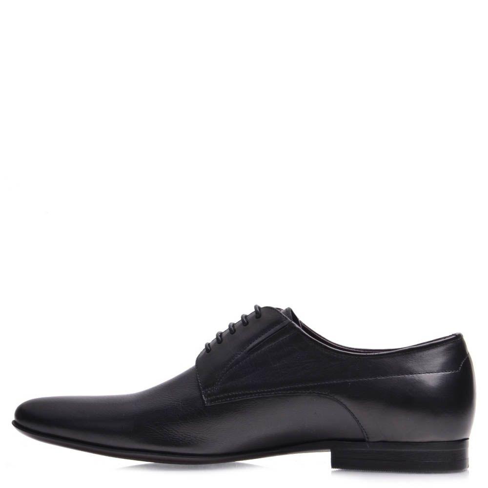 Туфли Prego классические мужские черного цвета
