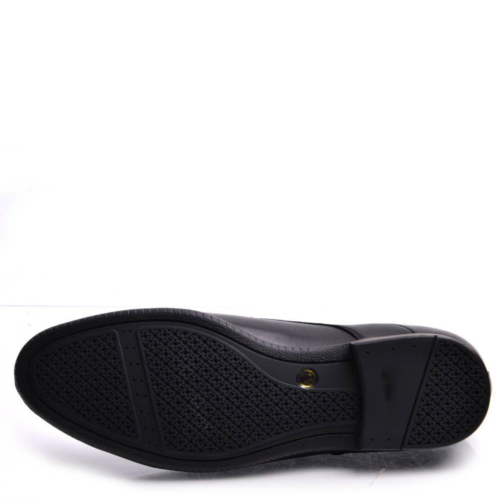Туфли Prego мужские классические с округлым носком