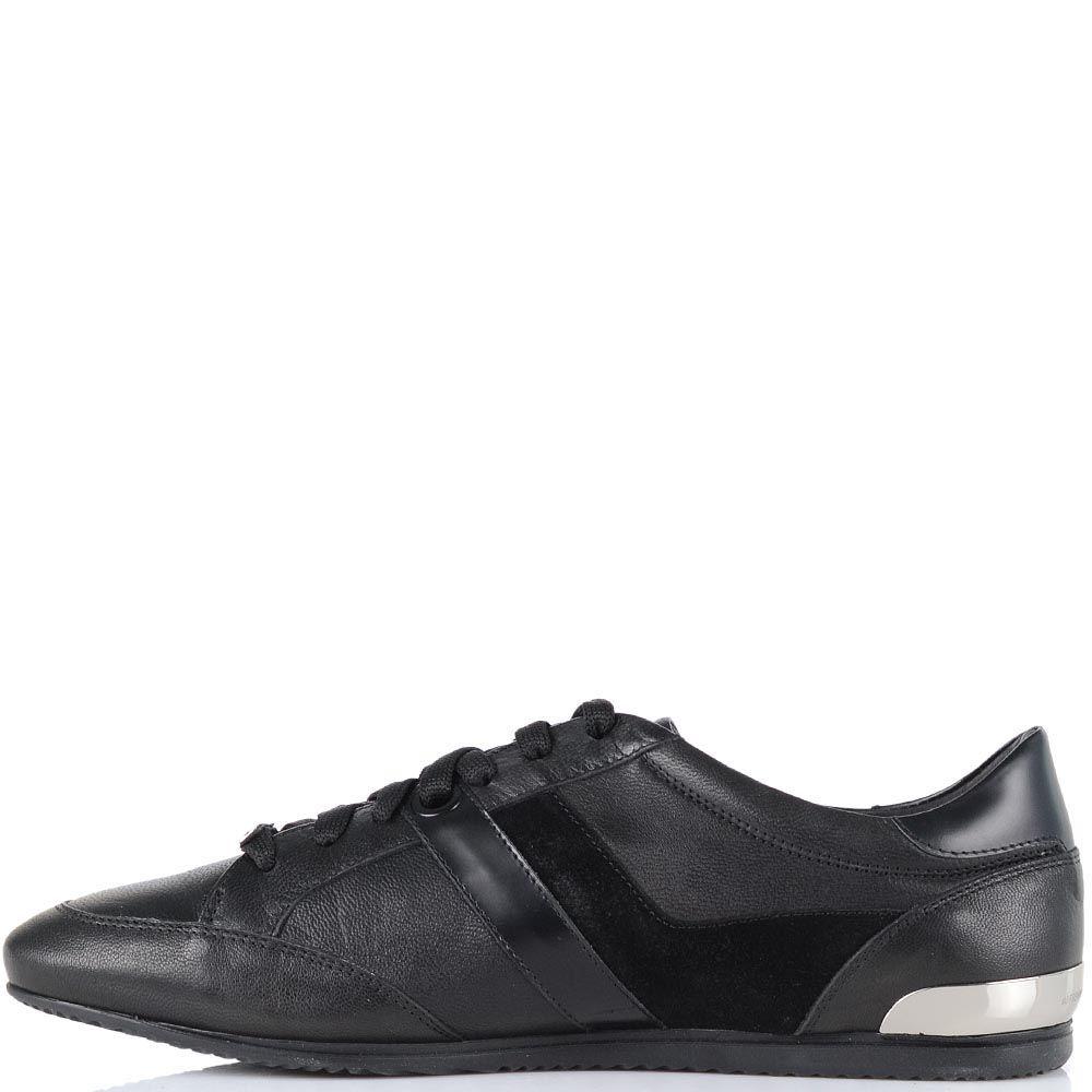 Мужские демисезонные кроссовки Alessandro Dell Acqua с замшевыми вставками