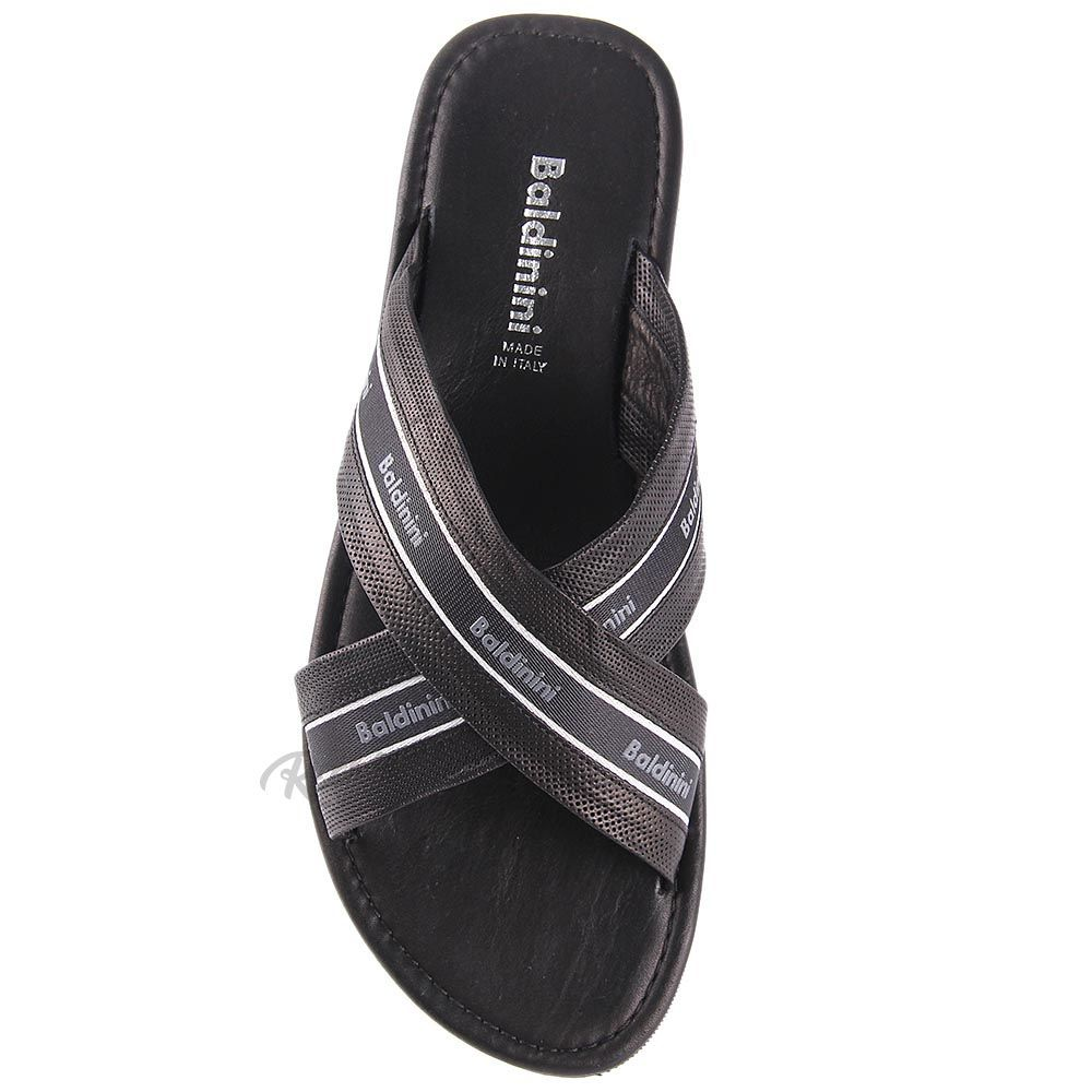 Мужские сандалии Baldinini из перфорированной кожи