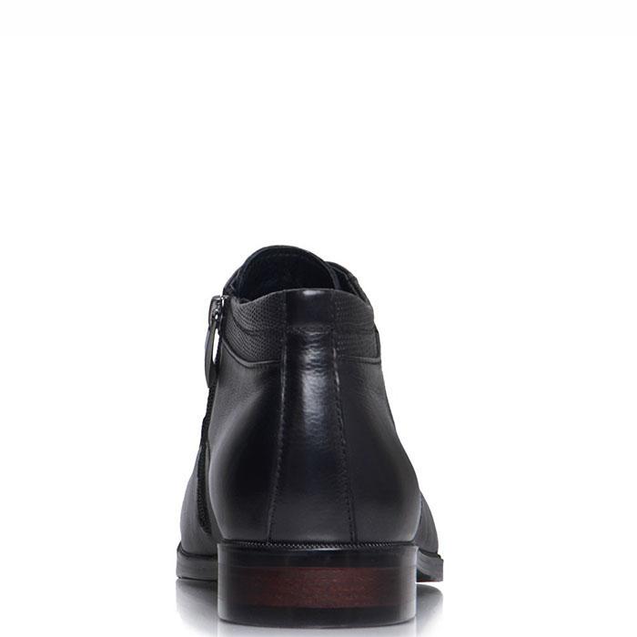 Высокие туфли-оксфорды Prego черного цвета
