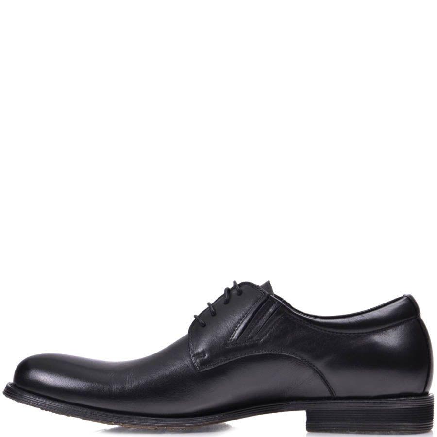 Туфли Grado мужские черного цвета классические