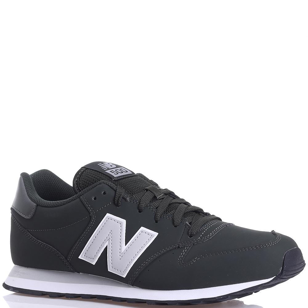 Кроссовки мужские New Balance 500 черного цвета