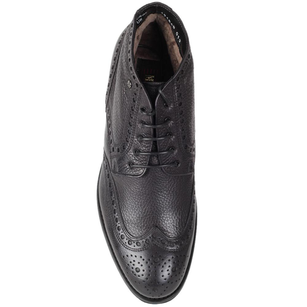 Мужские ботинки-броги Mario Bruni из кожа на меху