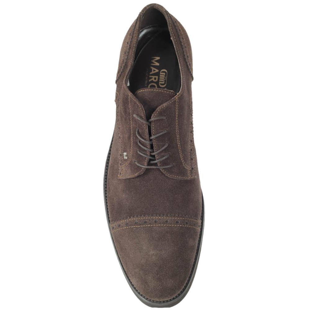 Мужские туфли Maros из натуральной замши коричневого цвета