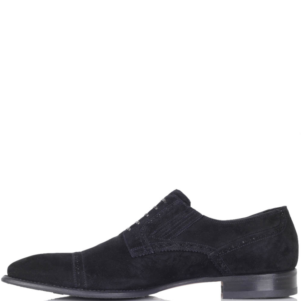 Туфли Mirko Ciccioli из замши черного цвета