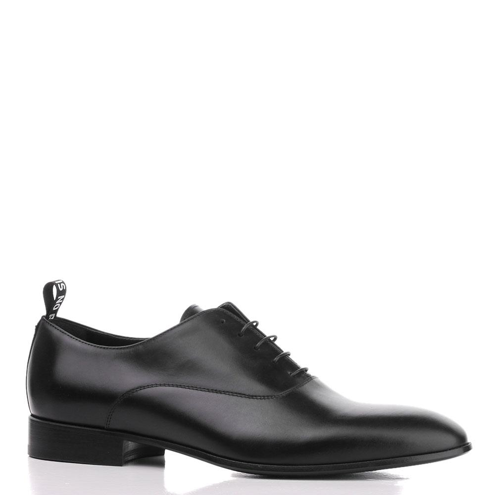 Туфли John Richmond из кожи черного цвета