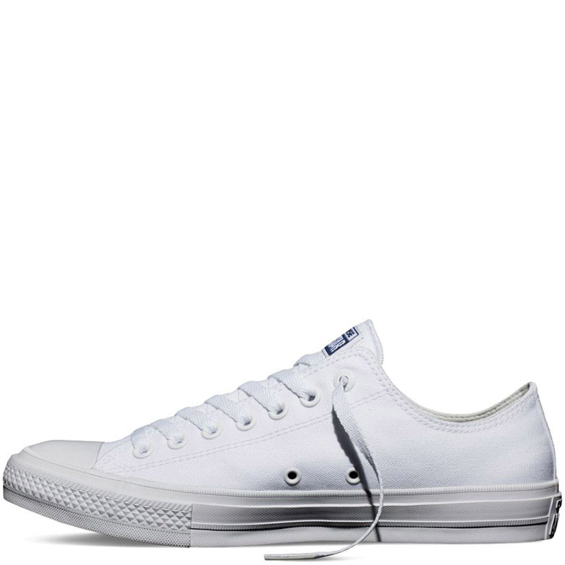 Мужские белые кеды Converse