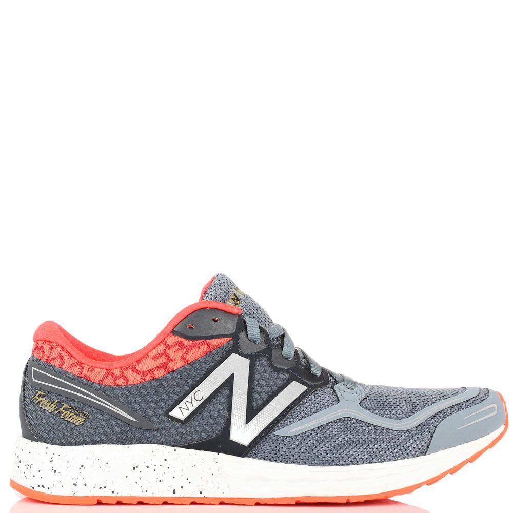 Мужские кроссовки New Balance M1980NYC серого цвета