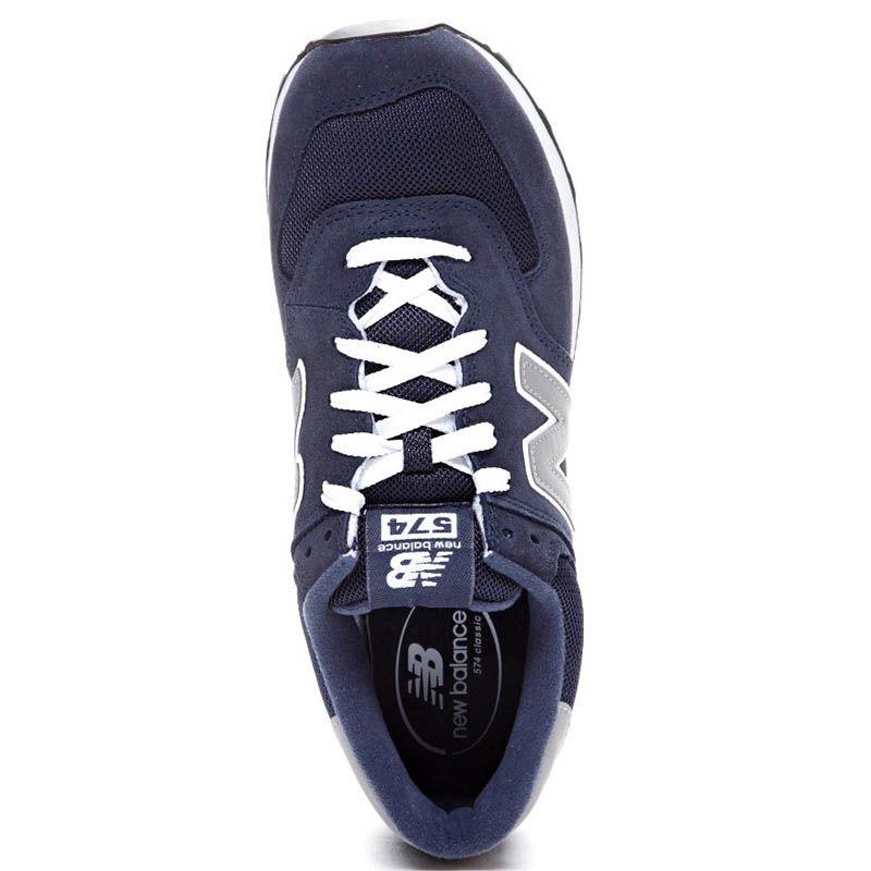 Кроссовки New Balance M574 мужские темно-синие