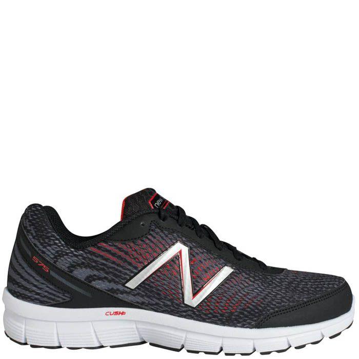 Кроссовки New Balance мужские Fitness Running черные с красным