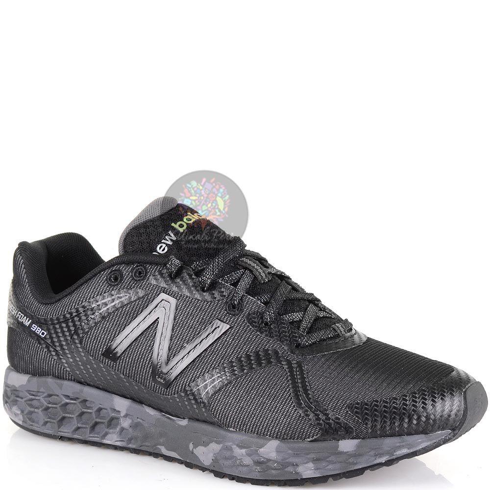 Мужские беговые кроссовки New Balance 980 Fresh Foam черные