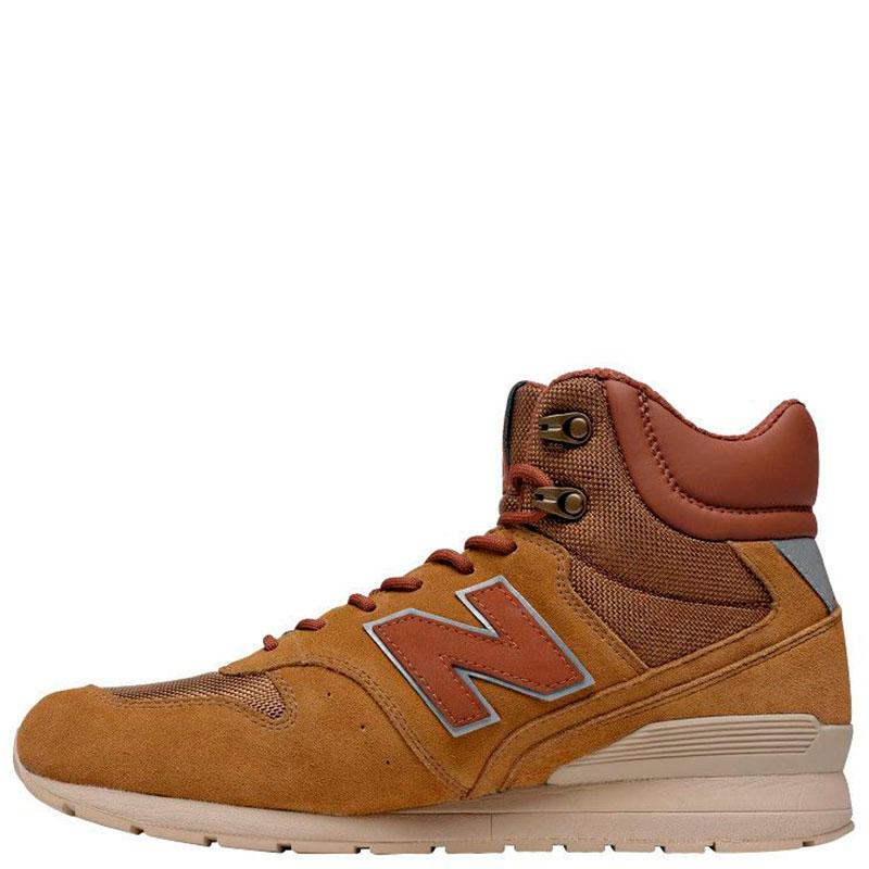 ee4658cbc05b ☆ Высокие кроссовки New Balance 996 из коричневой замши MRH996BR ...