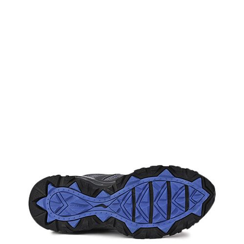 Мужские кроссовки Saucony Excursion TR8 темно-серые с синим
