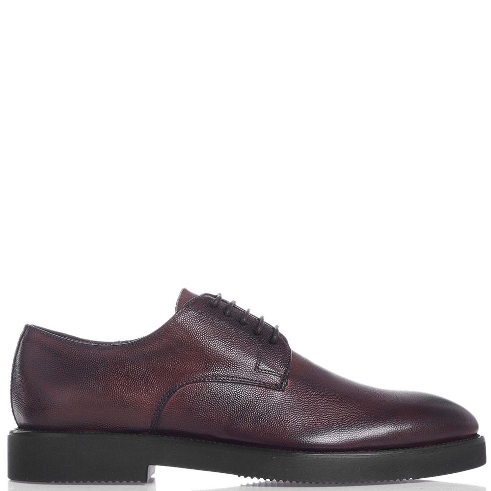 Утепленные туфли Brecos коричневого цвета