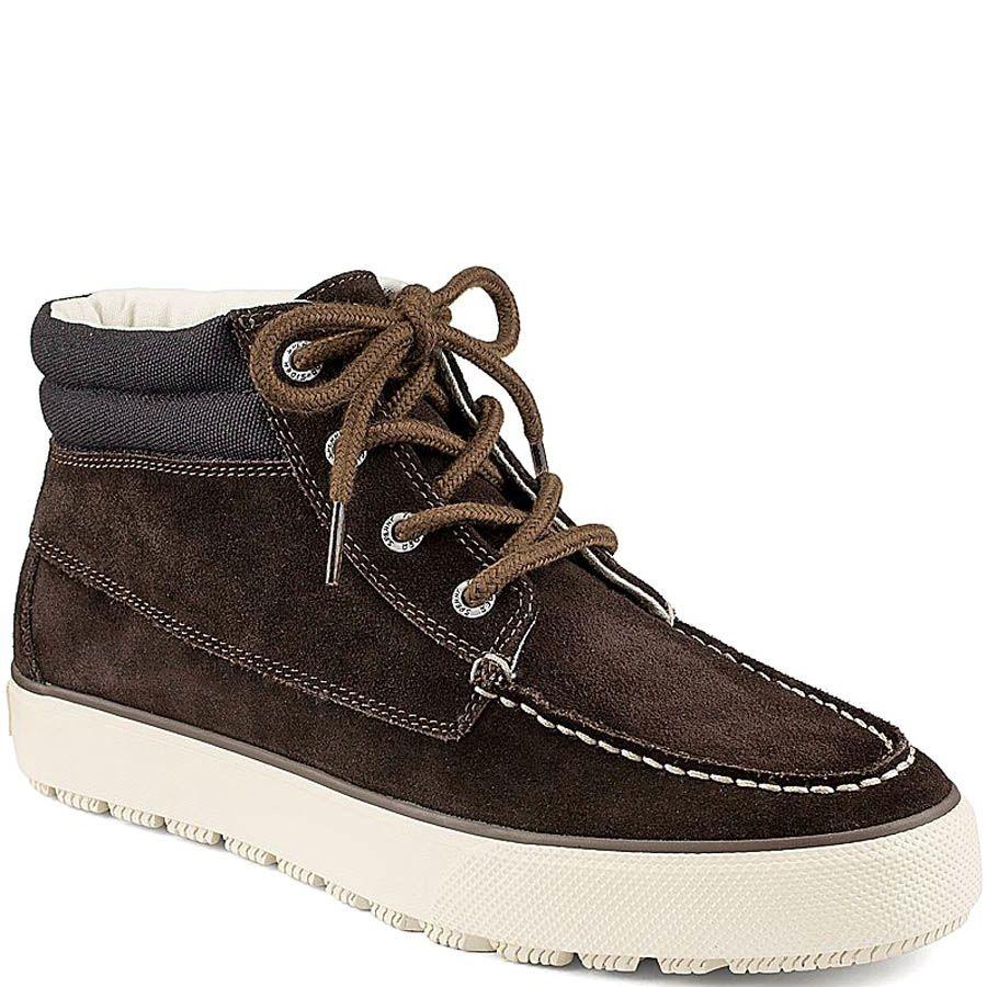 Ботинки Sperry Top-Sider Bahama Lug Chukka Suede коричневого цвета замшевые