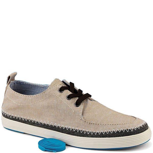 Туфли Sperry мужские бежевые с дополнительными шнурками