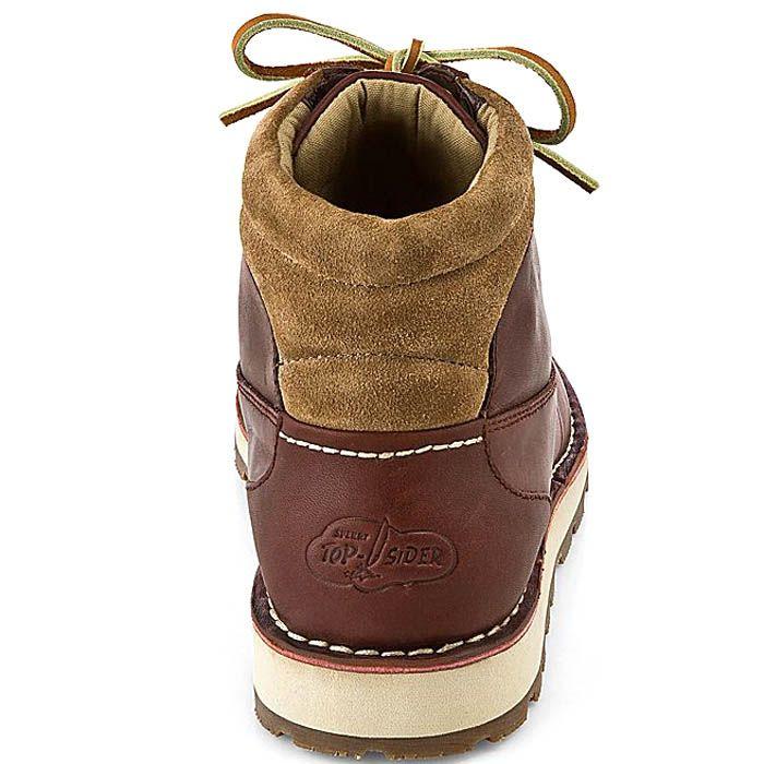 Ботинки Sperry Top-Sider Dockyard Sport Chukka коричневого цвета