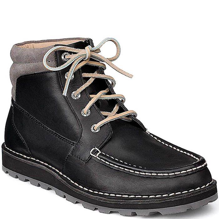 Ботинки Sperry Top-Sider Dockyard Sport Chukka черного цвета