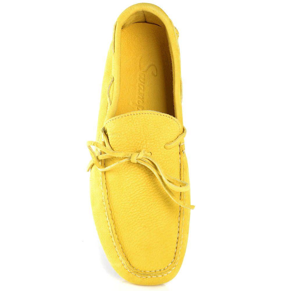 Мужские мокасины Swamp из мягкого желтого нубука