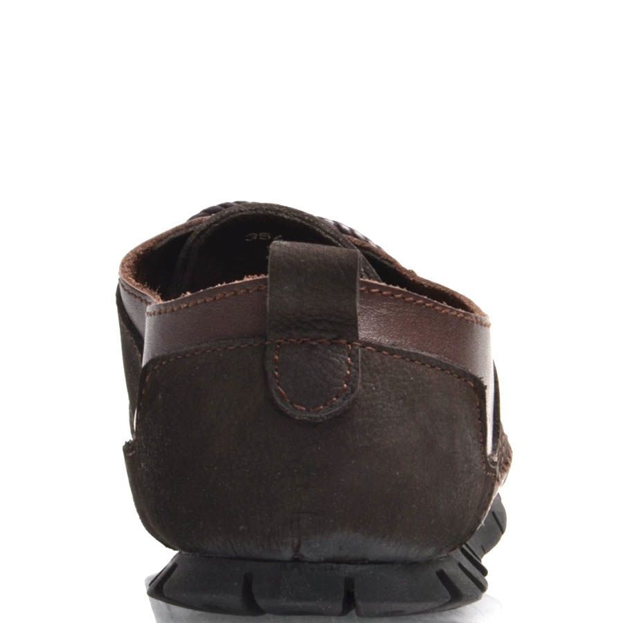 Туфли Prego мужские коричневого цвета из нубука