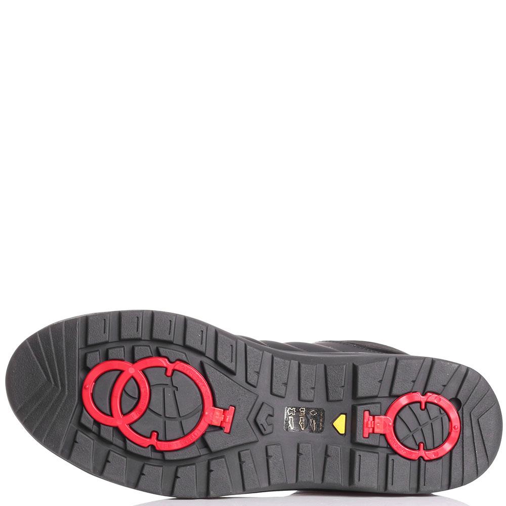 Ботинки на шнуровке Bogner черного цвета