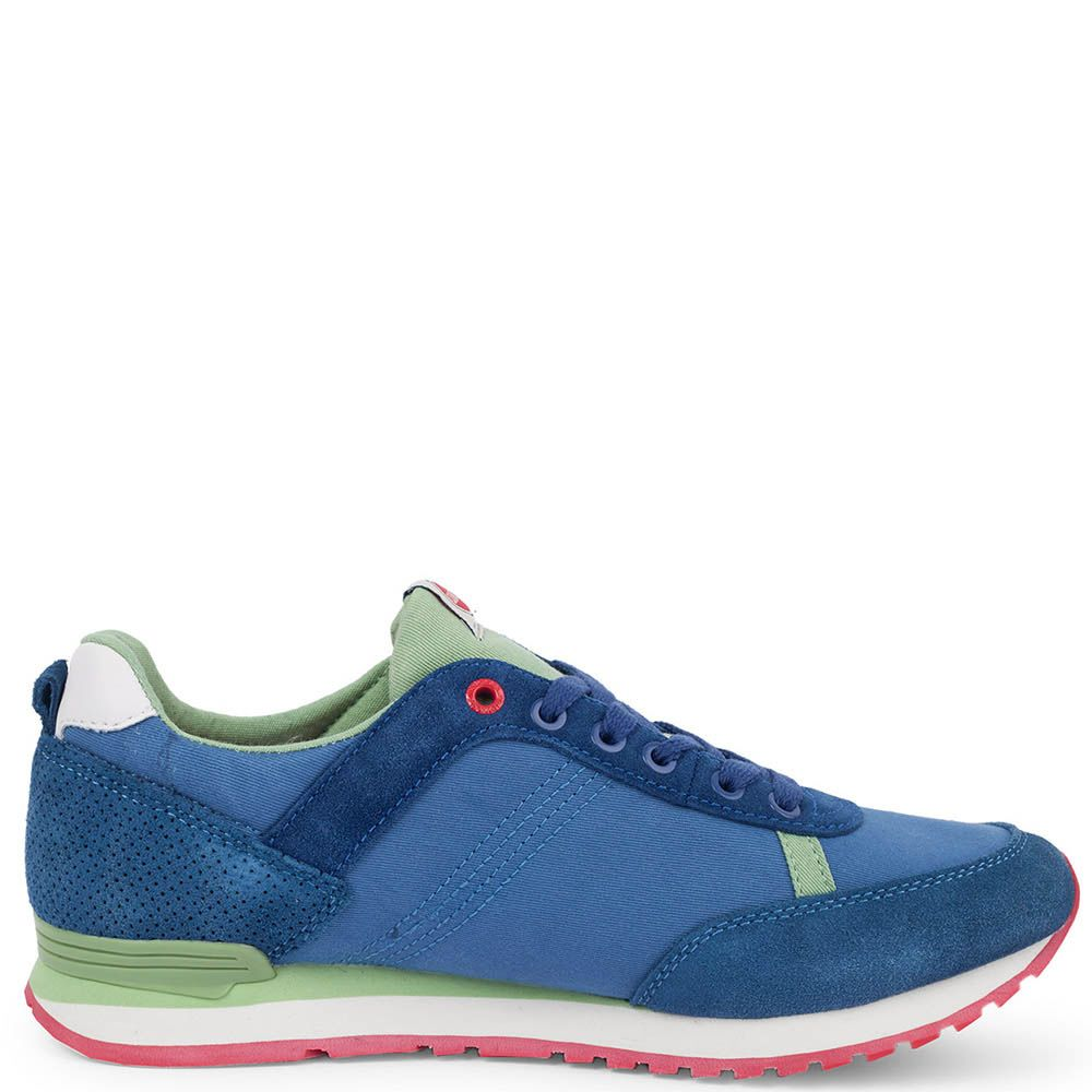Замшевые кроссовки Colmar Royale-Green