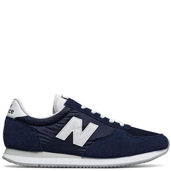 Замшевые кроссовки New Balance 220 синего цвета