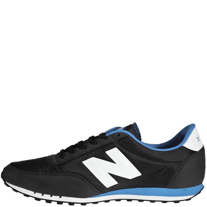 Кроссовки New Balance мужские 410 черные с голубым