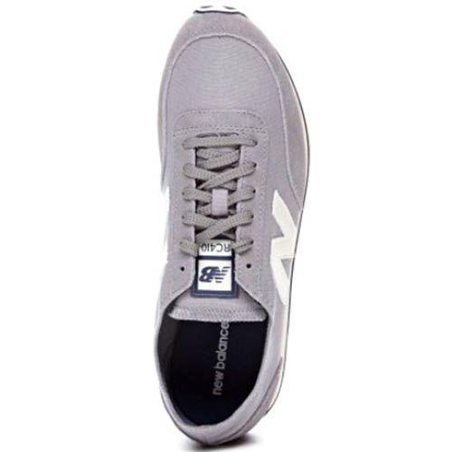 Кроссовки New Balance UC410G мужские замшевые серого цвета