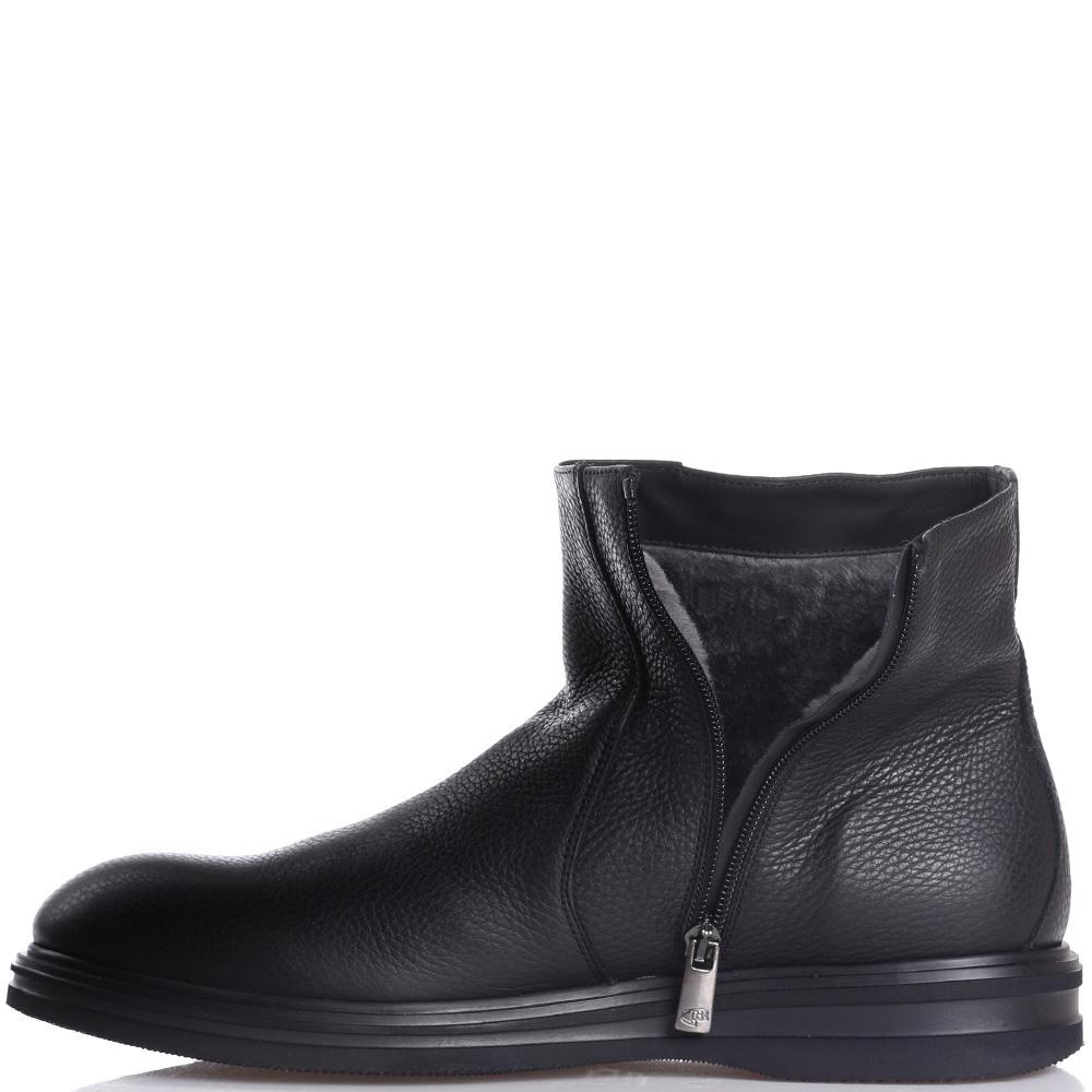 Черные ботинки Dino Bigioni на молнии