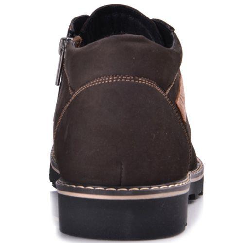 Ботинки зимние Lucky Choice темно-коричневый нубук, фото