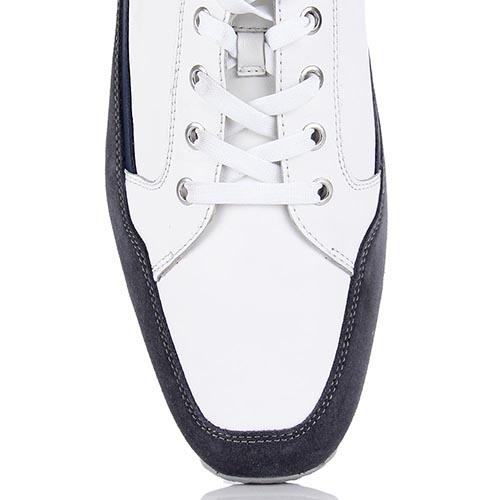 Мужские кроссовки Samsonite бело-серые с синими вставками, фото
