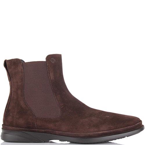Мужские ботинки Samsonite из замши со вставкой-резинкой, фото