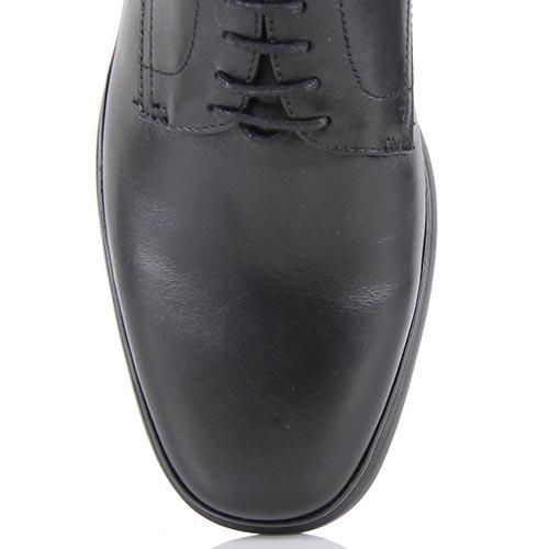 Мужские демисезонные туфли Samsonite из натуральной кожи черного цвета, фото