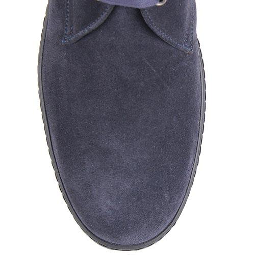 Мужские демисезонные ботинки Samsonite синего цвета на высокой подошве, фото