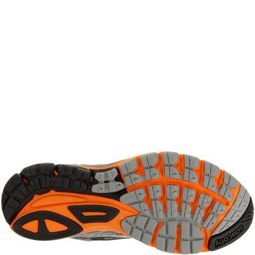 Кроссовки Saucony Ride 8 Gtx White Black Orange, фото