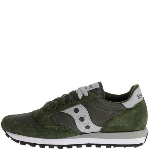 Кроссовки Saucony JAZZ Original Green Grey, фото