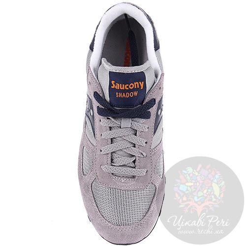 Мужские кроссовки Saucony Shadow Original серые, фото