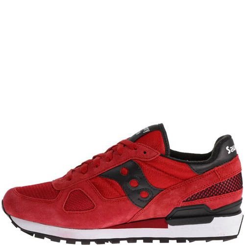 Кроссовки Saucony Shadow O Red Black, фото