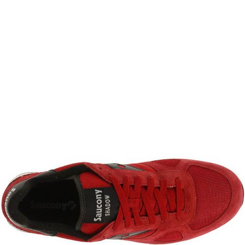 Кроссовки Saucony Shadow O Red Black, фото